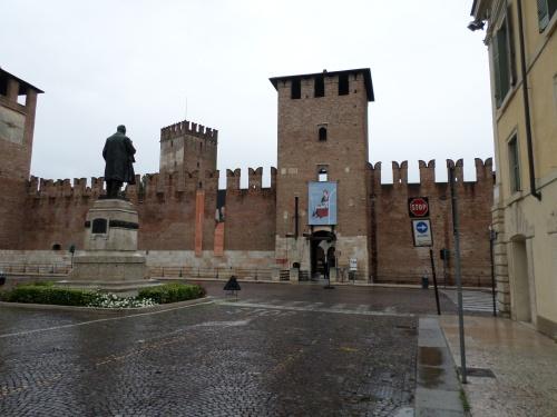 Entrance to Castelvecchio