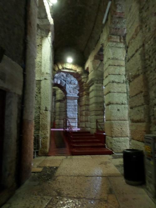 The main corridor at Gate 1.