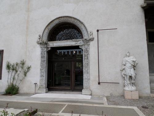 Door to the Exhibition wing