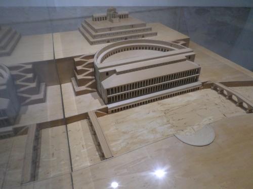 Model of the Roman Theatre