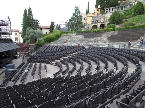 The Roman Theatre today