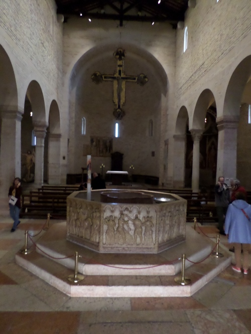 The Font in the Baptistry