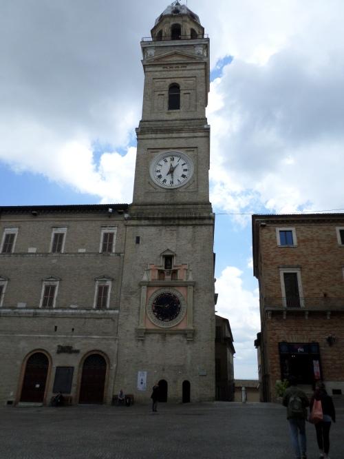 Clock tower Macerata