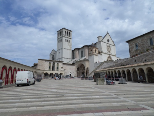 St Francis, Assisi