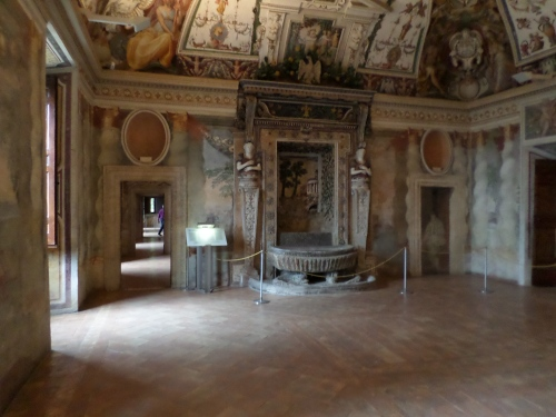 In the Villa D'Este