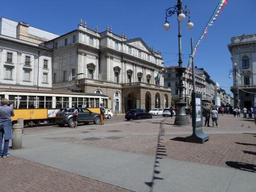 La Scala and tram