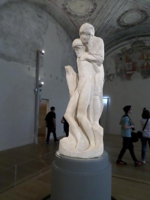 Michelangelo's fianl Pieta