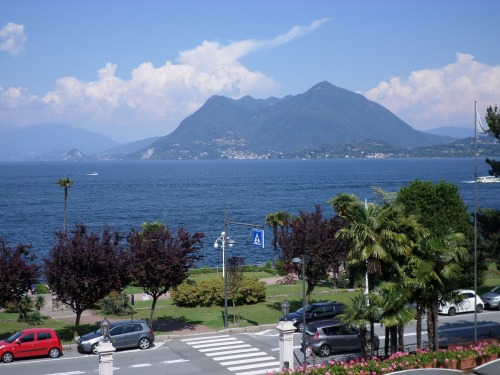 Lake Maggiore from the hotel