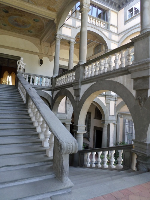 Palazzo Pfanner staircase