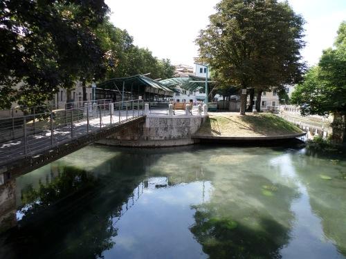 The Treviso fish market