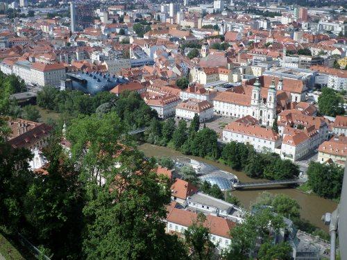 Graz from Schlossberg