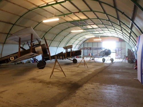 Stow Maries Replica WWI planes